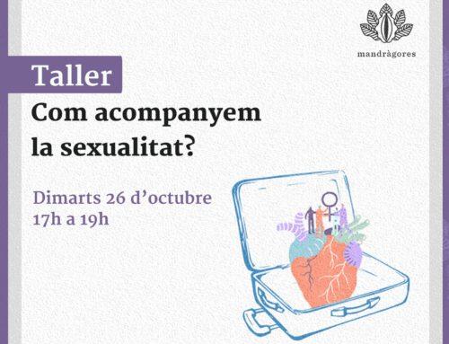 Acompanyar la sexualitat. Nou taller organitzat per la Comissió de Gènere